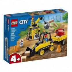 Lego City Bulldozer De Construcción (Entrega Inmediata)