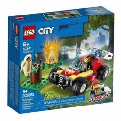 Lego City Incendio En El Bosque (Entrega Inmediata)