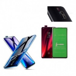 Kit Protector Clean Xiaomi Mi 9t + Irrompible Visor + Lente (Entrega Inmediata)