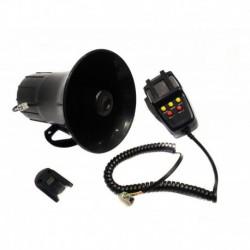 Sirena Escolta Perifoneo Ambulancia 5 Tonos Alta Potencia50w (Entrega Inmediata)
