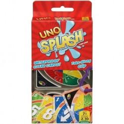 Uno Splash Juego De Cartas Transparentes Mattel Games Dhw42 (Entrega Inmediata)