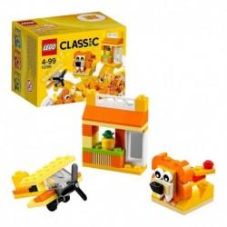 Lego Classic 60pcs Caja Creativa Naranja 10709 Bloques (Entrega Inmediata)