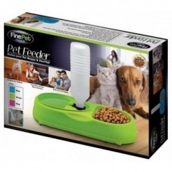 Alimentador De Mascotas Perros Y Gatos Pet Feeder Fine Pet (Entrega Inmediata)