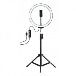 Aro De Luz 33cm Con Trípode Incluido 3 Modos De Iluminación (Entrega Inmediata)