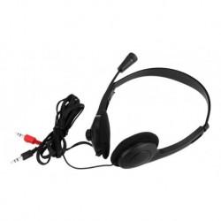 Diadema Con Microfono Y Doble Plug 3.5mm Deptek Dt821-989 (Entrega Inmediata)