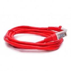 Patch Cord Cat 6 Amp De 3 Mtrs Rojo Con Mas Resistencia (Entrega Inmediata)