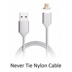 Cable Magnético De Carga Rápida Para iPhone 5, 5s,6,6s Nylon (Entrega Inmediata)