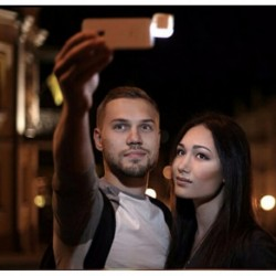 Flash Led Para Selfies Celulares Samsung LG iPhone (Entrega Inmediata)
