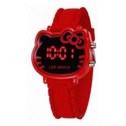 Reloj Hello Kitty Animado Digital Silicona (Entrega Inmediata)