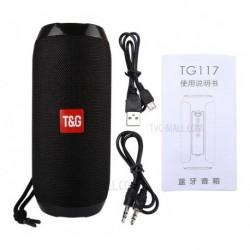 Altavoz Bluetooth Tg117, Puerto Usb, Micro Sd Y Micrófono (Entrega Inmediata)
