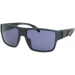 Gafas adidas SP0006 02A Hombre Matte Black/Smoke Lenses Rectangular 57mm
