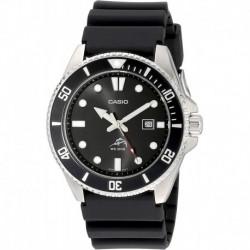 Reloj Hombre Casio MDV106-1AV 200M Duro Analog , Black (Importación USA)