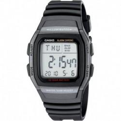 Reloj Hombre Casio W96H-1BV Classic Sport Digital Black  (Importación USA)