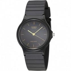 Reloj Hombre Casio MQ24-1E Black Resin  (Importación USA)