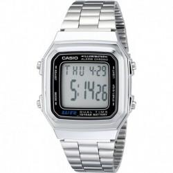 Reloj Hombre Casio A178WA-1A Illuminator Stainless Steel  (Importación USA)