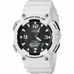 Reloj Casio Ana-Digi Solar Gloss (Model: AQ-S810WC-7AVCF) (Importación USA)