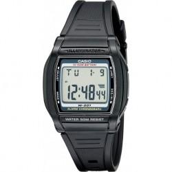 Reloj Hombre Casio W201-1AV Chronograph Water Resistant (Importación USA)