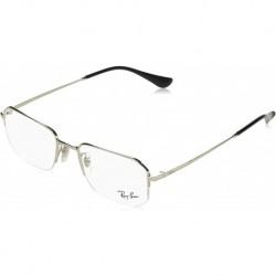 Gafas Ray-Ban Hombre Rx6449 Metal Rectangular Prescription Eyeglass Frames
