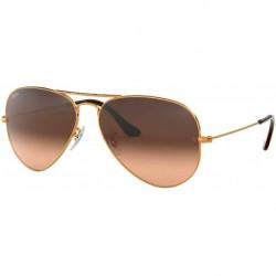 Gafas Ray-Ban Bronze Shiny/Brown Metal Non-Polarized 58mm