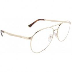 Gafas Persol PO2453V Eyeglasses 1076 Gold w/ Demo Lens 57mm