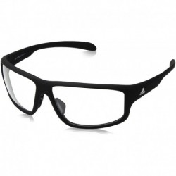 Gafas adidas Kumacross 2.0 Non-Polarized Iridium Rectangular Black Matte 64 mm