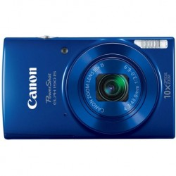 Camara Canon PowerShot ELPH 190 Digital Camera w/ 10x Optical Zoom and Image Stabilization Wi-Fi & NFC Enabled Blue