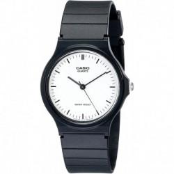 Reloj Hombre Casio MQ24-7E Casual With Black Resin Band (Importación USA)