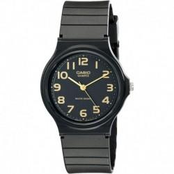 Reloj Hombre Casio MQ24-1B2 with Black Resin Band (Importación USA)