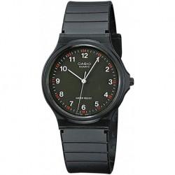 Reloj Casio MQ24-1B 3-Hand Analog Water Resistant (Importación USA)