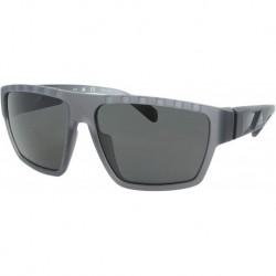 Gafas adidas SP0008 20A Hombre Transparent Grey/Smoke Lens Rectangular 61mm