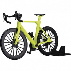 Figura Figma Max Factory Styles figma PLAMAX Road Bike Lime Green 1:12 Scale Plastic Model Kit Multicolor