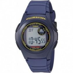 Reloj Hombre Casio F-200W-2BCF Original (Importación USA)