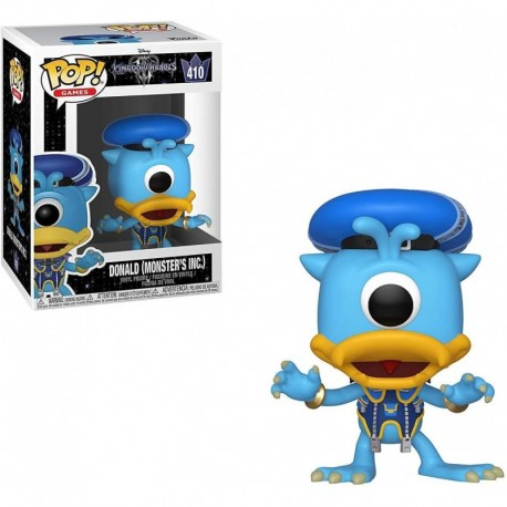 Figura Disney Funko Pop Disney Kingdom Hearts 3 Donald Monsters Inc Collectible Multicolor