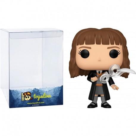 Figura Funko Hermione Granger Funk?o Pop! Vinyl Bundle 1 Compatible 'ToysDiva' Graphic Protector 113 48065 B