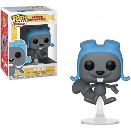 Figura Funko Pop Animation Rocky & Bullwinkle Flying Collectible Multicolor