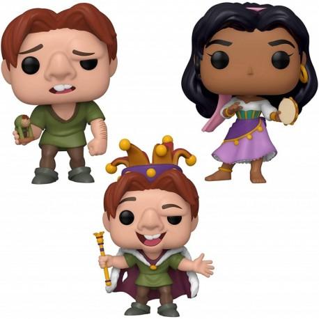 Figura Disney Funko Disney POP! Hunchback of Notre Dame Collectors Set Quasimodo Quasimodo Fool Esmeralda