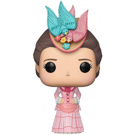 Figura Disney Funko Pop Disney Mary Poppins ReturnsMary at The Music Hall Pink Dress Collectible Multicolor