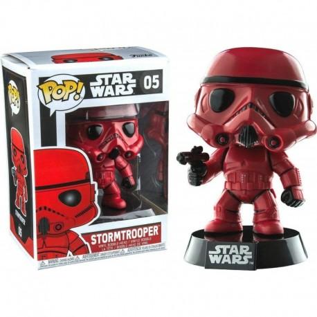 Figura Star Wars Funko POP Red Stormtrooper Mini