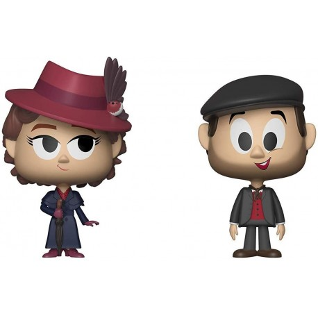 Figura Funko Vynl Mary Poppins Returns & Jack 2 Pack Multicolor One-Size 34222
