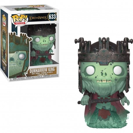 Figura Funko Pop Movies Lord of The Rings Dunharrow King Collectible Multicolor