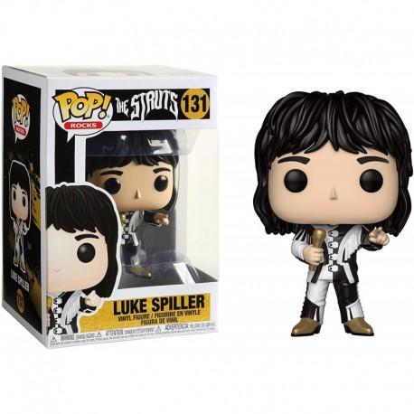 Figura Funko Luke Spiller Pop! Rocks Vinyl & 1 Compatible Graphic Protector Bundle 131 41523 B