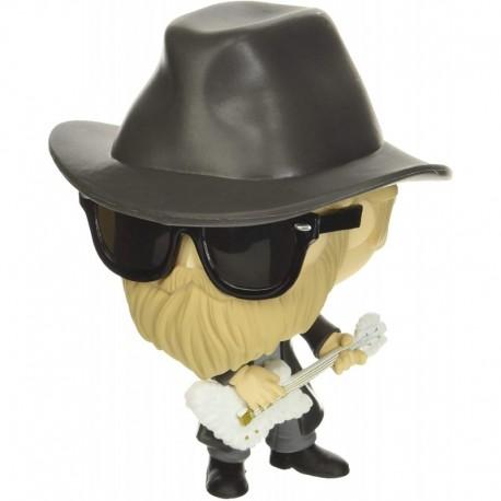 Figura Funko POP Rocks ZZ Top Dusty Hill Multicolor