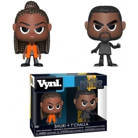 Figura Funko 34967 Vynl Black PantherShuri & T'challa Multicolor