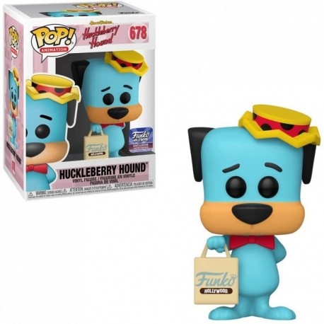 Figura Funko POP! Animation Huckleberry Hound F Hollywood Bag 678 Fnko Grand Opening Limited Edition Exclusive