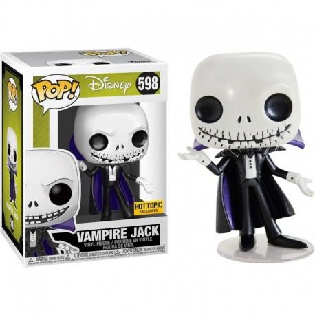 Figura Funko Vampire Jack Hot Topic Exc Fun?ko Pop! Vinyl & 1 Compatible Graphic Protector Bundle 598 44491 B