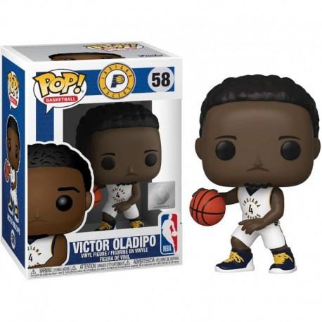Figura Funko Victor Oladipo Pacers Fun?ko Pop! Basketball Vinyl & 1 Compatible Graphic Protector Bundle 058 44275 B