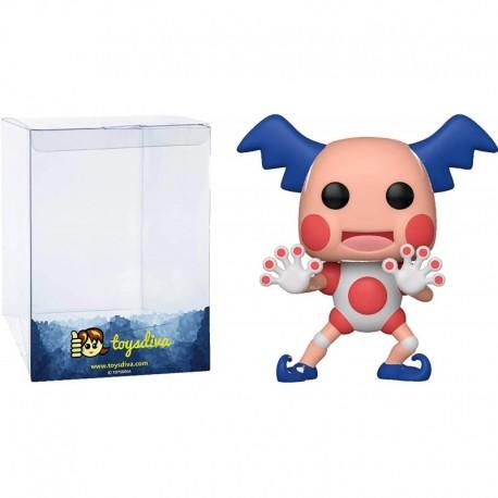 Figura Funko Mr Mime Funk?o Pop! Games Vinyl Bundle 1 Compatible 'ToysDiva' Graphic Protector 582 46865 B