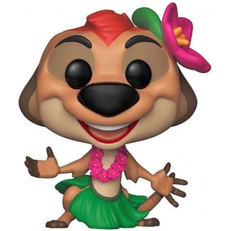 Figura Disney Funko Pop! Disney Lion King Luau Timon Toy Multicolor
