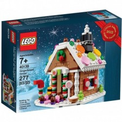 LEGO 40139 Gingerbread House 277 Pieces