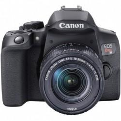 Camara Canon EOS Rebel T8i EF-S 18-55mm is STM Lens Kit Black